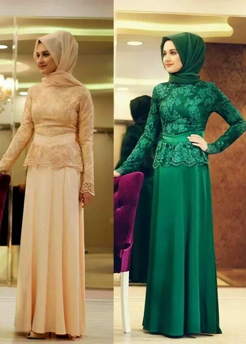 Image Result For Model Baju Gamis Modern Warna Hitam