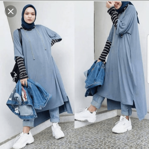 Model Baju Tunik Nissa Sabyan 16