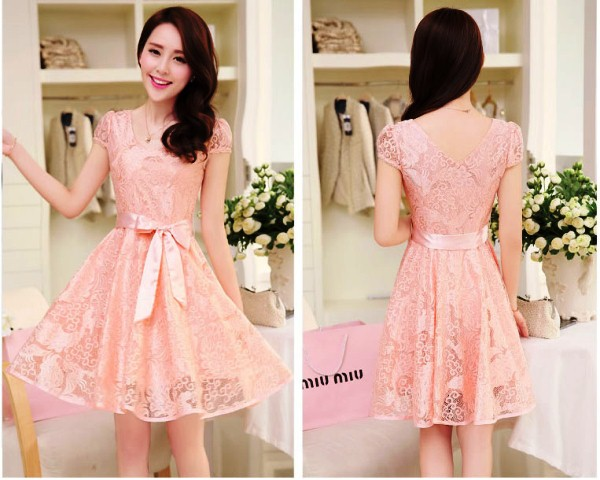 Model Baju Dress Pendek 18