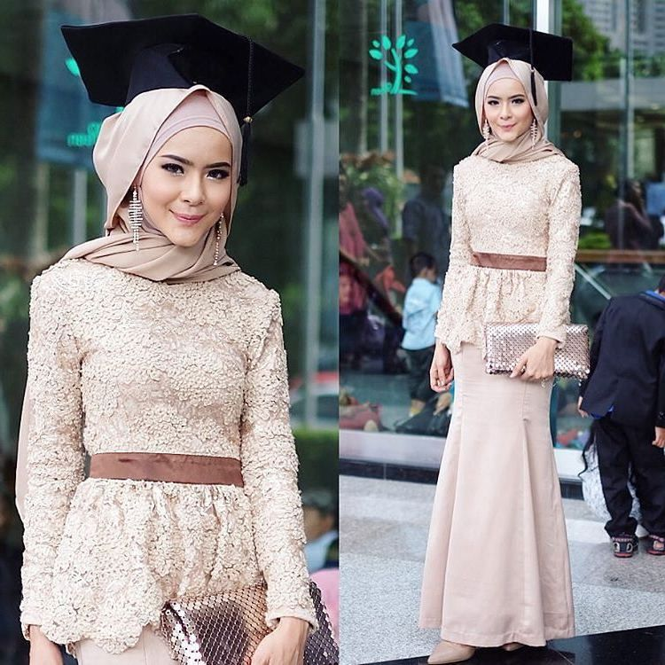 Image Result For Model Gamis Kebaya Warna Pink