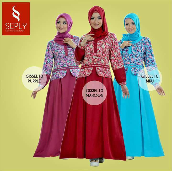 Image Result For Model Baju Gamis Rahnem