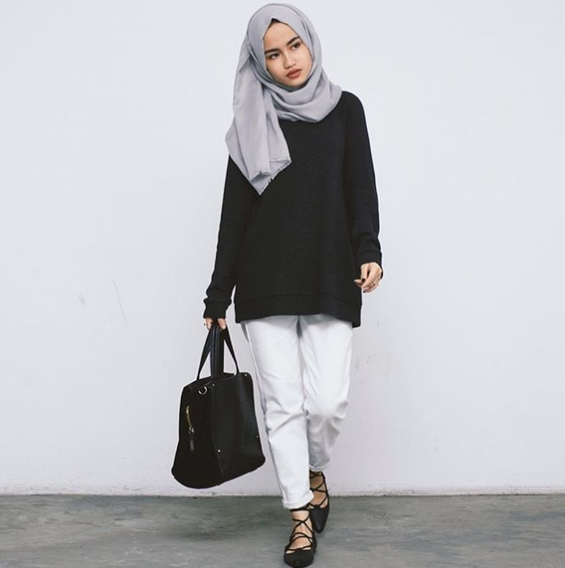 Model Baju Islami Casual 1