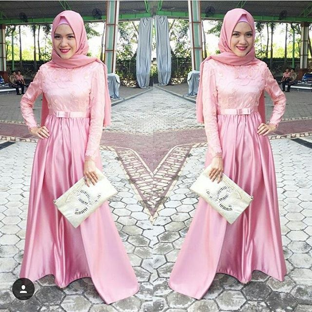 Image Result For Model Gamis Simple  Warna
