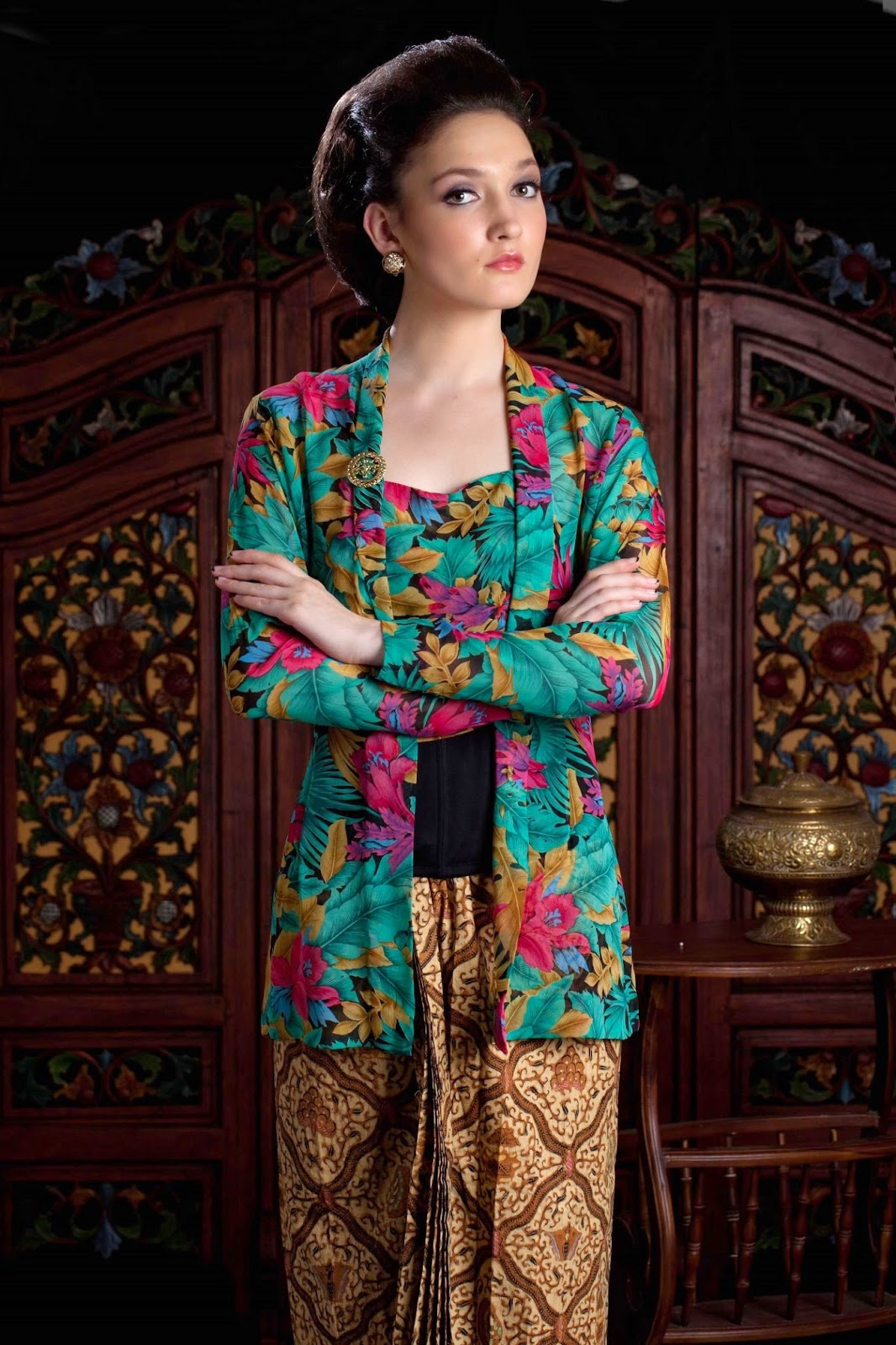 Image Result For Model Gamis Batik Encim