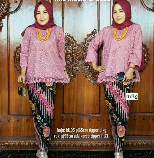 Model Baju Brokat Pesta Rok 26