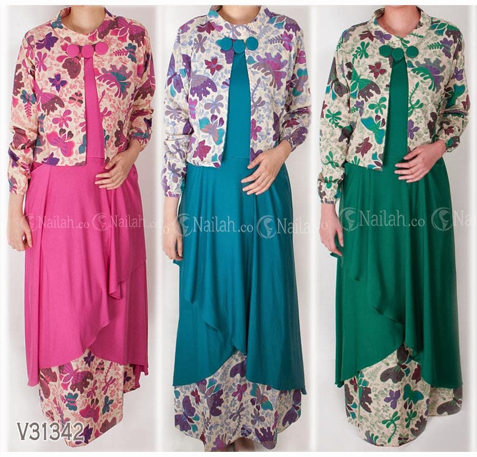 Image Result For Model Gamis Katun Rempel