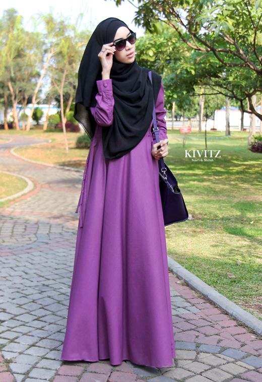 Model Baju Gamis Gamis Simple