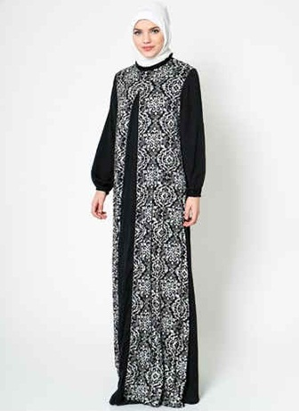 Image Result For Model Baju Gamis Batik Variasi