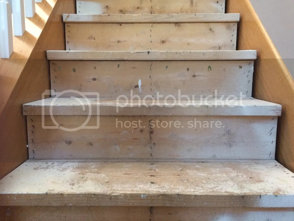 Refinishing Roughed In Stairs Removing Carpet Bogleheads Org   Refinishing Builder Grade Stairs   Diy   Basement Stairs   Staircase Makeover   Flooring   Carpeted Stairs