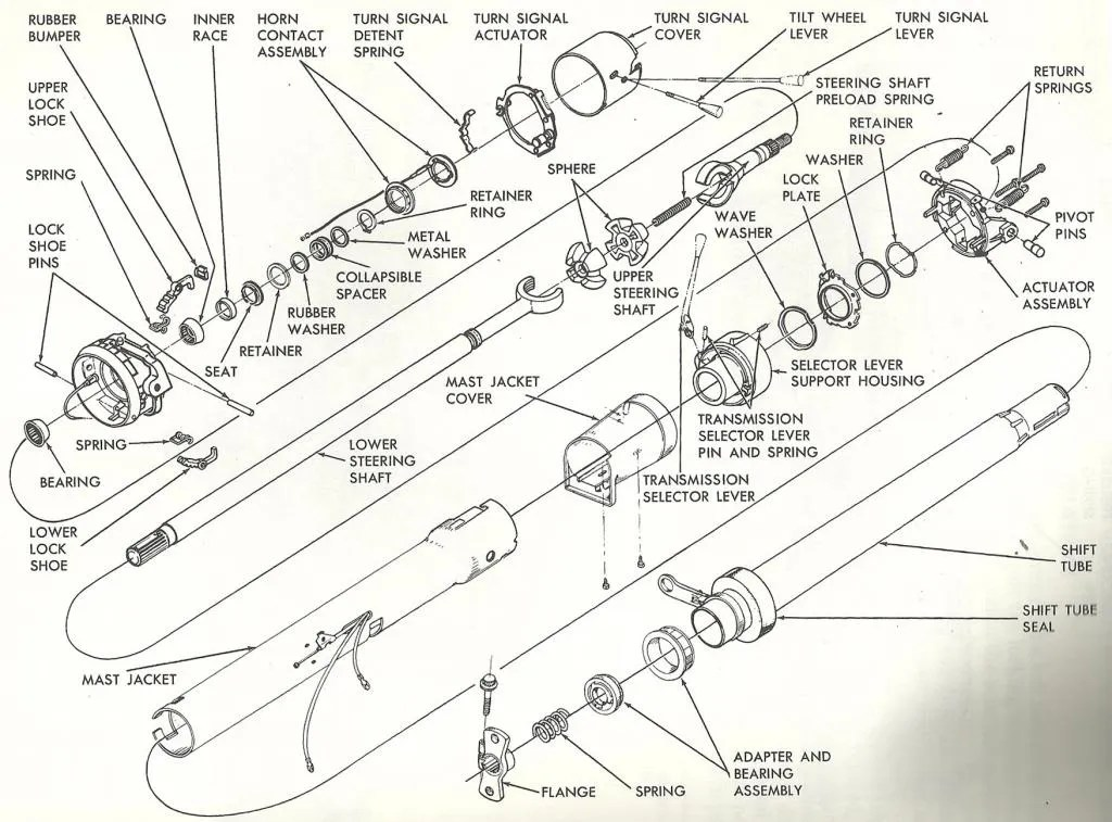 Diagram 63 Impala Steering Column