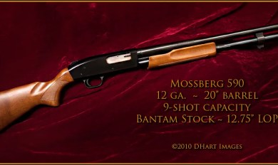 Mossberg 590 Wood Furniture   Wooden Thing