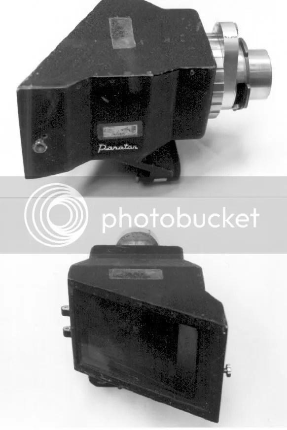 Anamorphic Panavision Lens