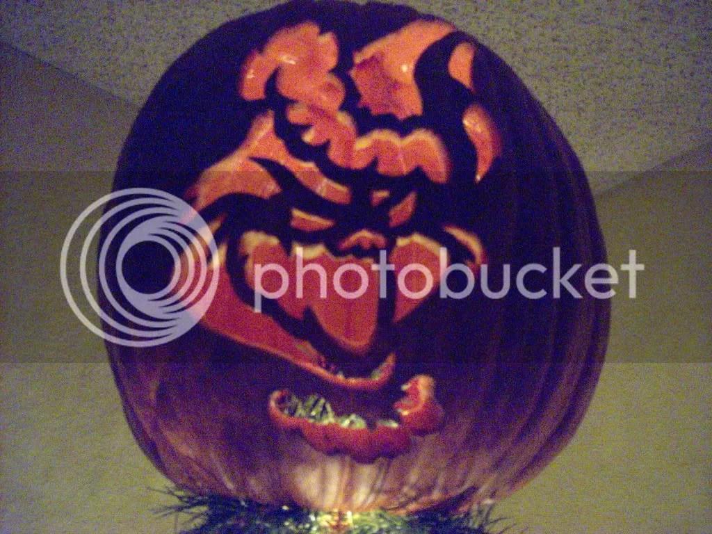 Nosferatu Stencil Pumpkin