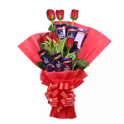 Chocolate Rose Bouquet Gift Chocolate Roses Bouquet