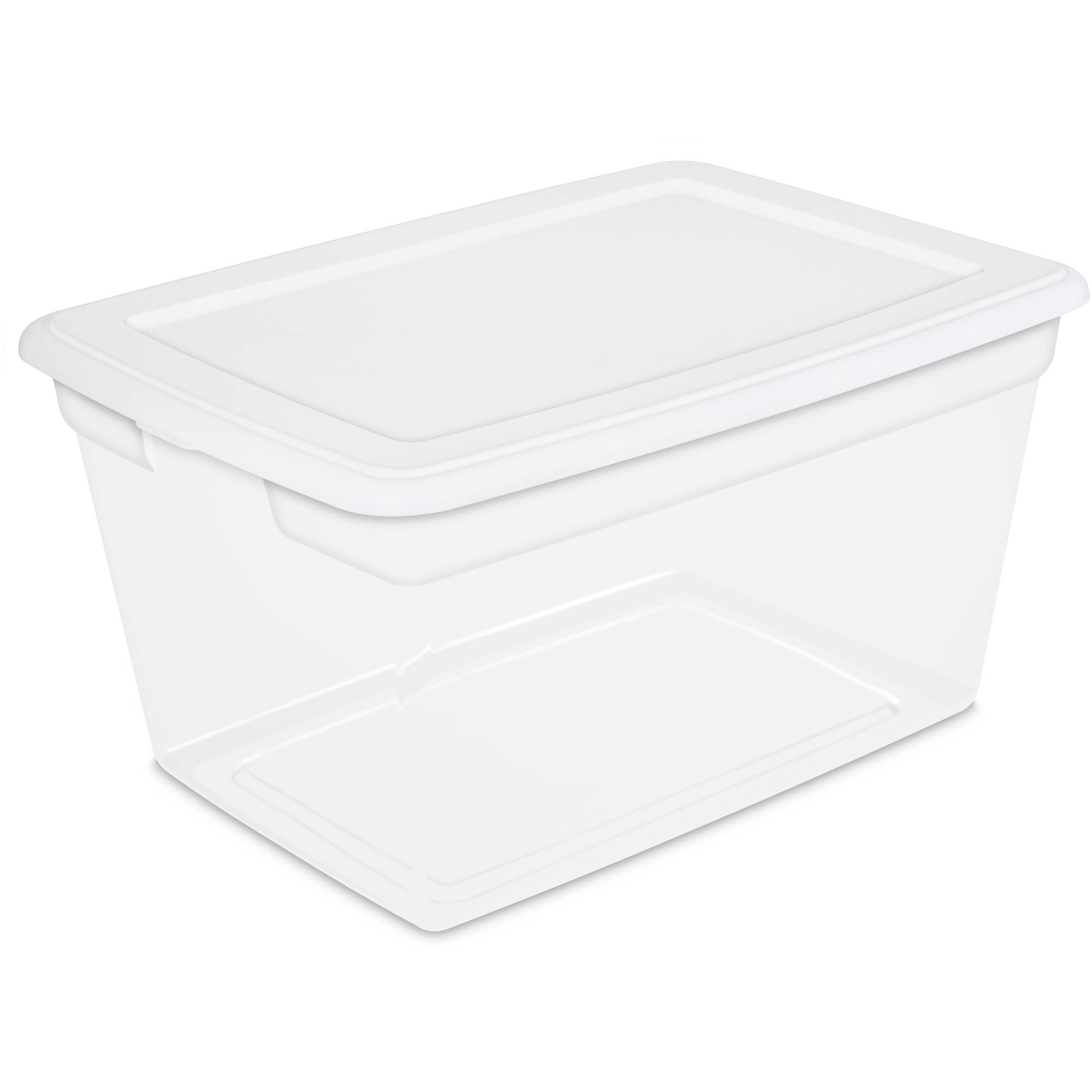 Best Kitchen Gallery: Hefty Hi Rise Storage Bins 113 Qt Xl Stackable Bin With Latch of Plastic Storage Containers on rachelxblog.com