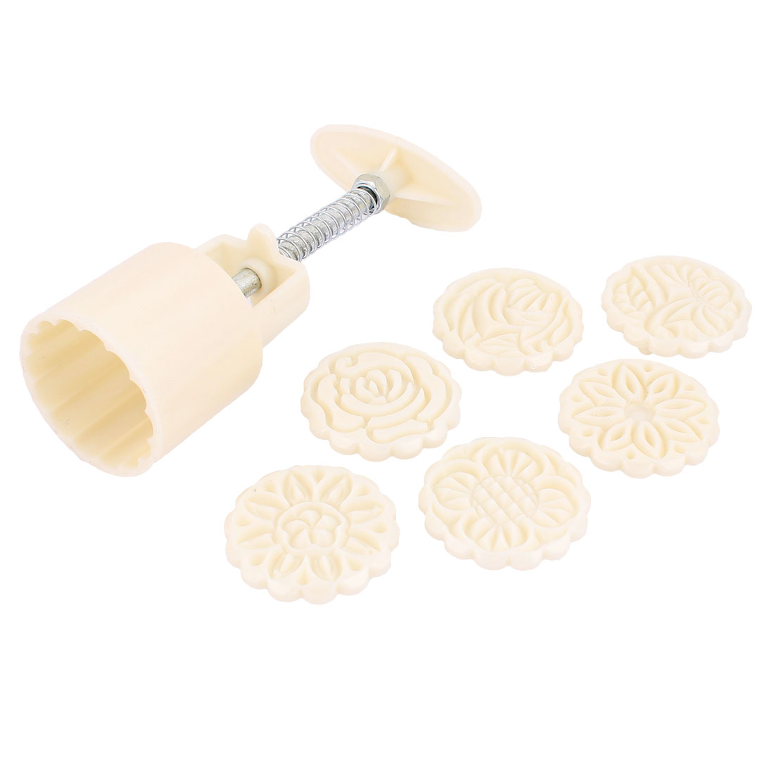 Flower Pastry Mould Round Stamps Hand Pressure DIY Tool ...