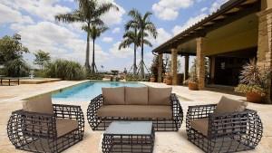 Sofa For Hanover Outdoor Furniture Soho 4 Piece Modern