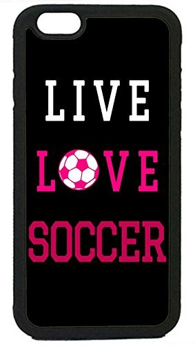 Image of: Einstein Ganma Soccer Girl Pink Futbol Ball Quote Rubber Silicon Black Case Cover Case For Iphone 47inch Walmartcom Ganma Soccer Girl Pink Futbol Ball Quote Rubber Silicon Black Case