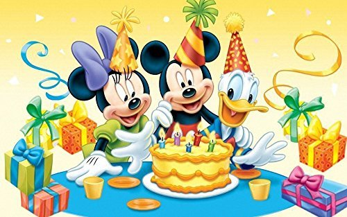 Mickey Minnie Mouse Donald Disney Birthday Party Edible