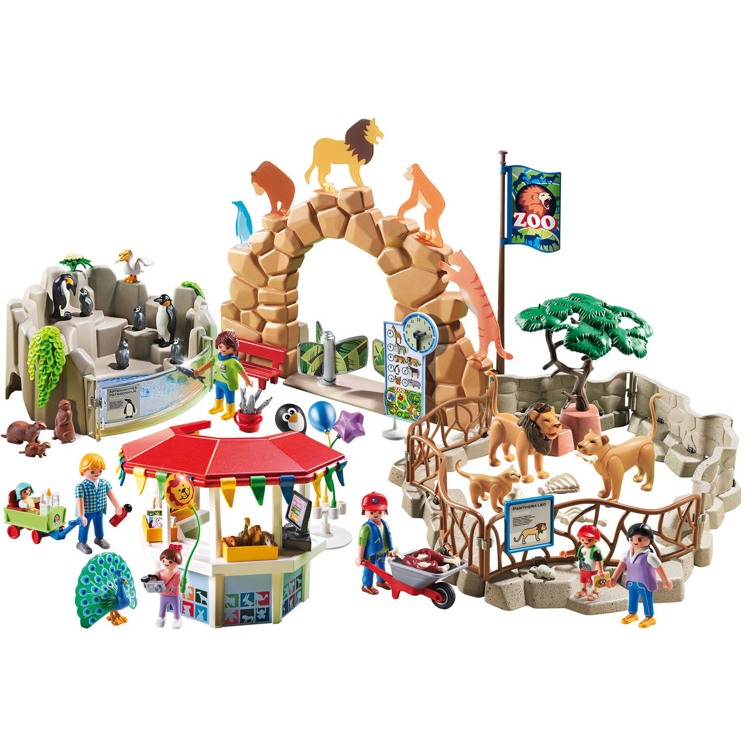 Image of: Figures Walmart Playmobil Large City Zoo Walmartcom