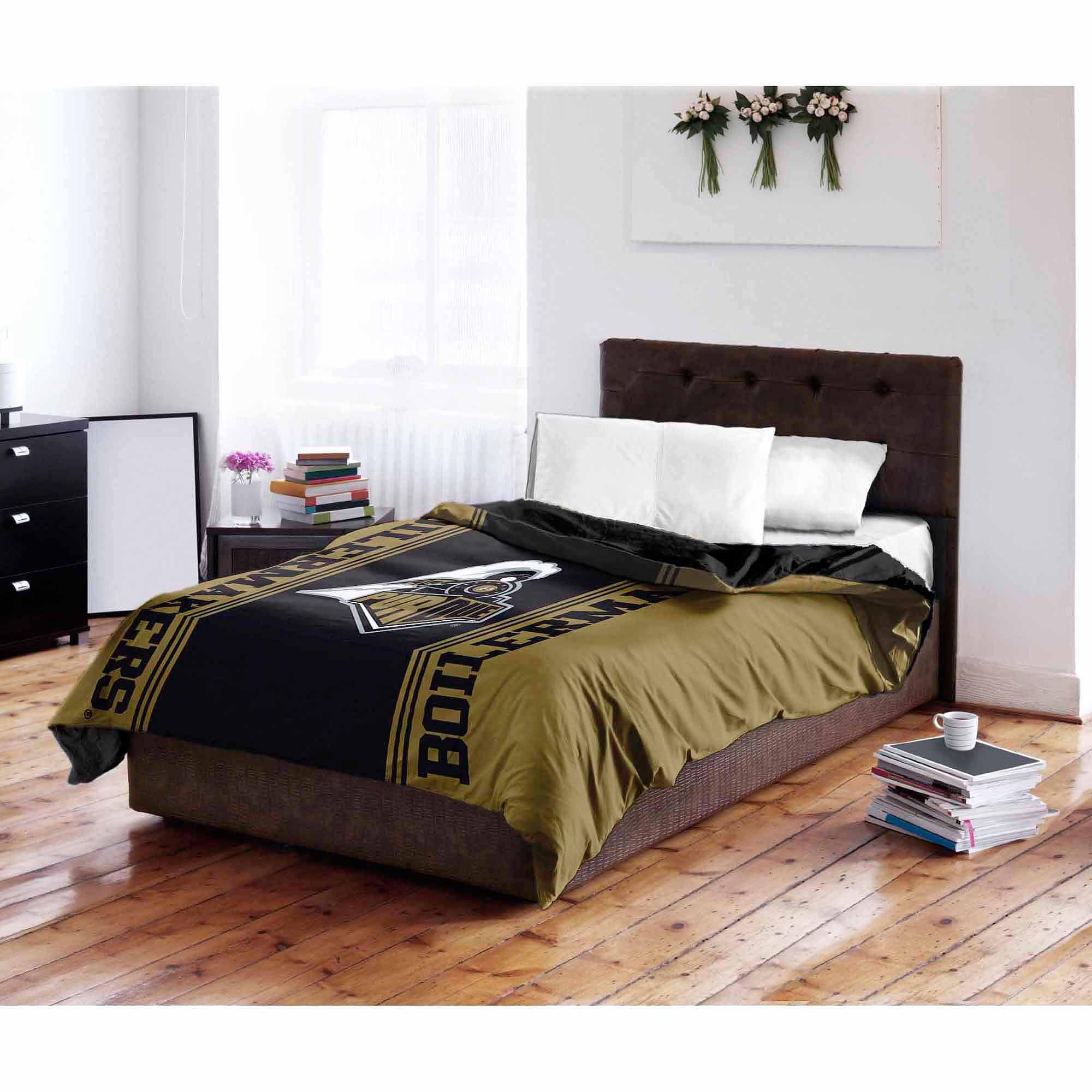 Ncaa Purdue Boilermakers Twin Full Bedding Comforter