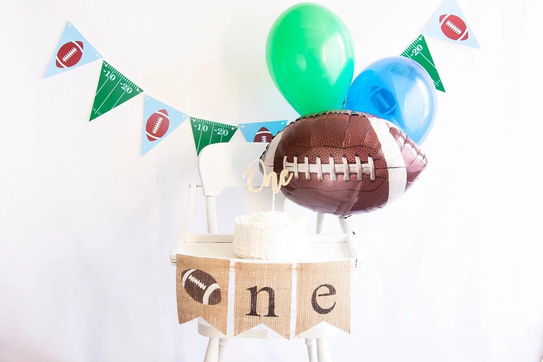 Football First Birthday Collection Football 1st Birthday