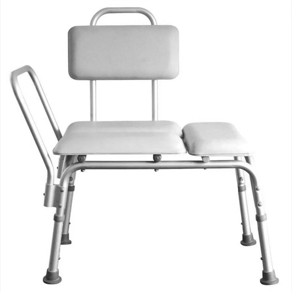 Ktaxon 6 Height Adjustable Bath Tub Transfer Bench Medical
