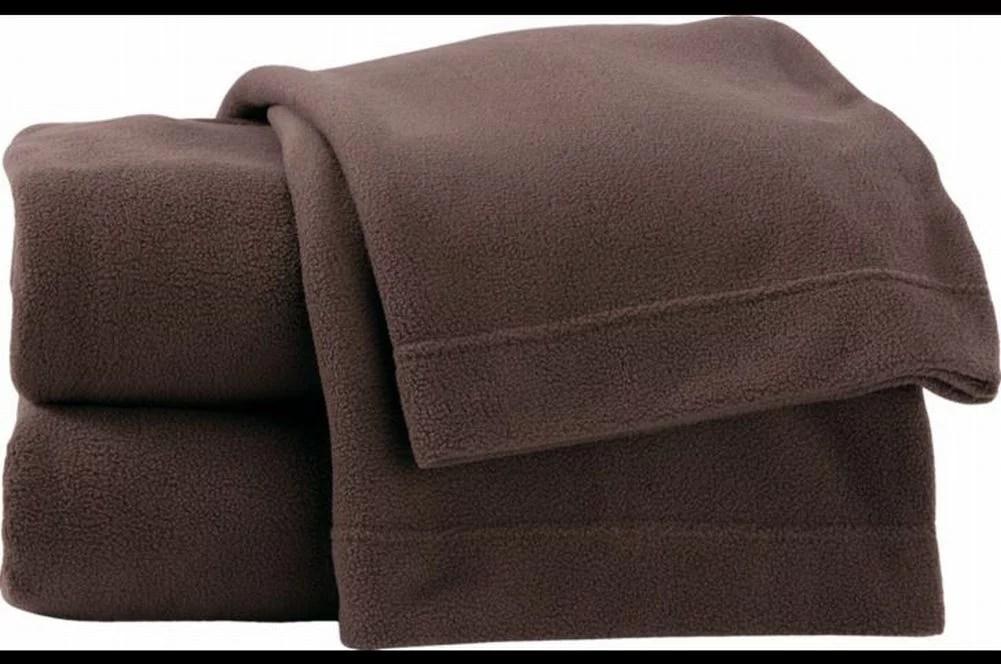 Soft & Lofty Fleece Sheet Set Rich Brown Full Bed Size ...