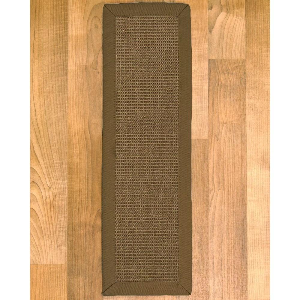 Natural Area Rugs Handcrafted Portal Sisal Carpet Stair Treads 9 | Sisal Carpet Stair Treads | Oak Valley | Skid Sisal | Stair Runner | Fiber Sisal | Landing Mat