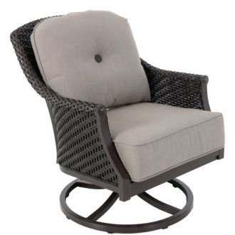 Red Barrel Studio Kanzler Aluminum Outdoor Wicker Swivel Lounge     Red Barrel Studio Kanzler Aluminum Outdoor Wicker Swivel Lounge Patio Chair