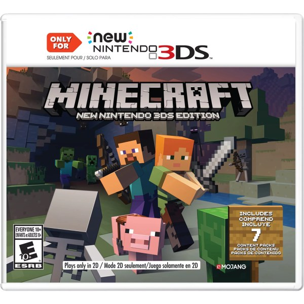 Minecraft New Nintendo 3DS Editions  Nintendo  Nintendo 3DS     Minecraft New Nintendo 3DS Editions  Nintendo  Nintendo 3DS  045496904517