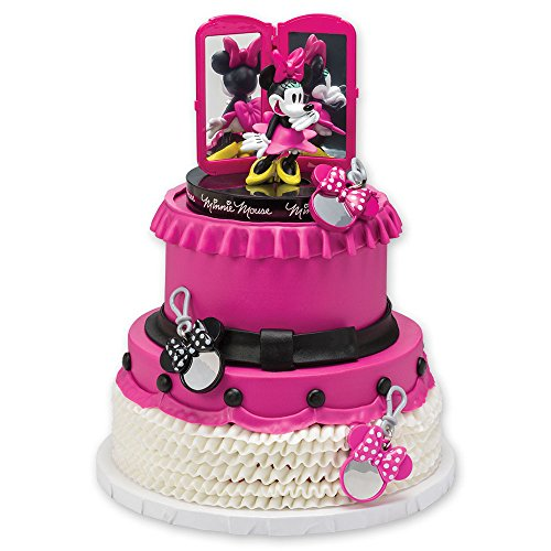 Minnie Mouse Bags  Bows   Shoes Signature Cake Topper Decorating Kit     Minnie Mouse Bags  Bows   Shoes Signature Cake Topper Decorating Kit