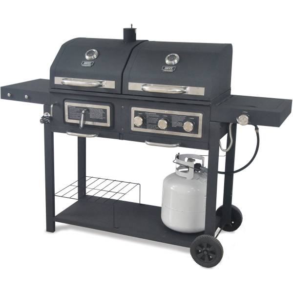 667 sq in Gas Charcoal Grill   Walmart com