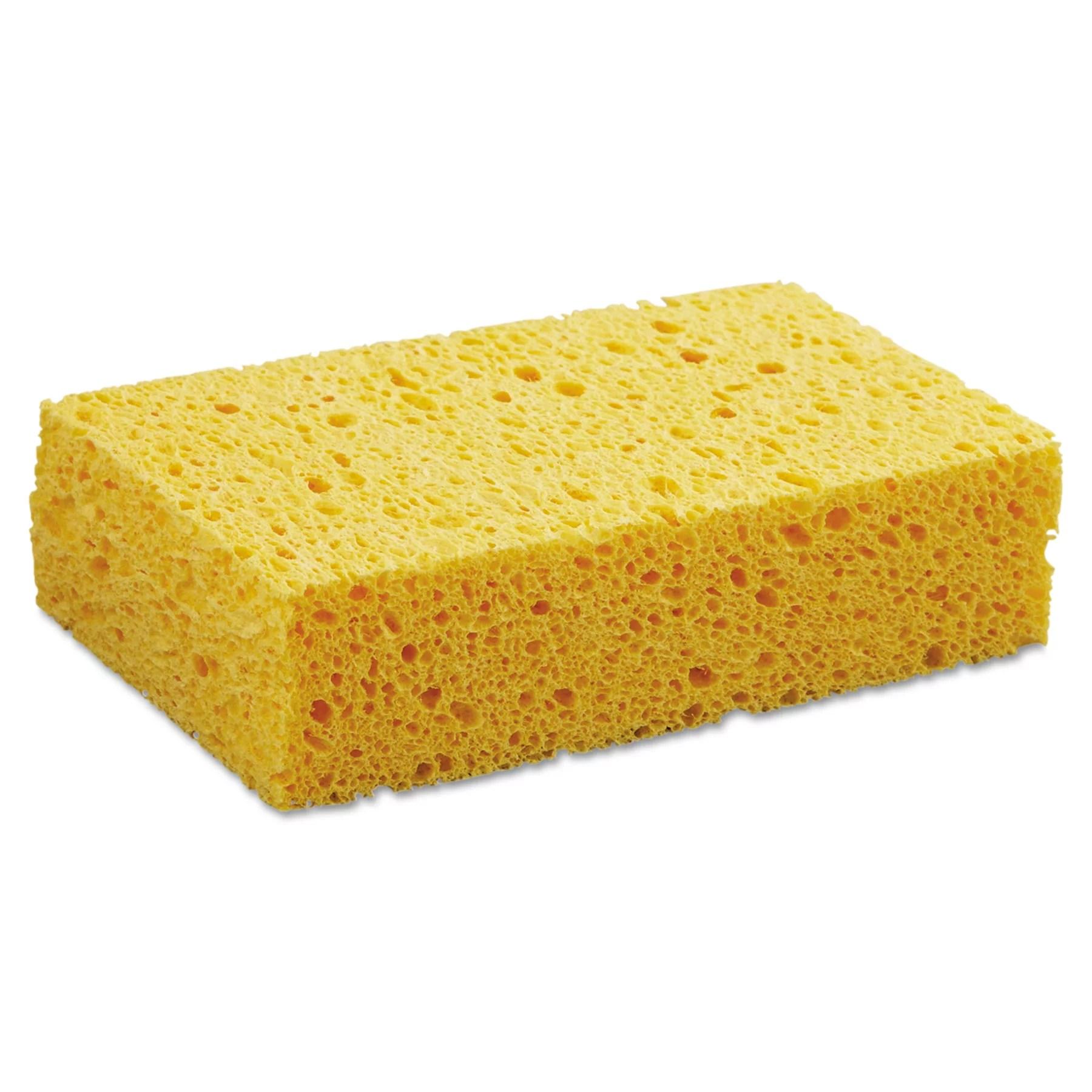 Boardwalk Medium Cellulose Sponge 3 2 3 X 6 2 25 Quot 1 55