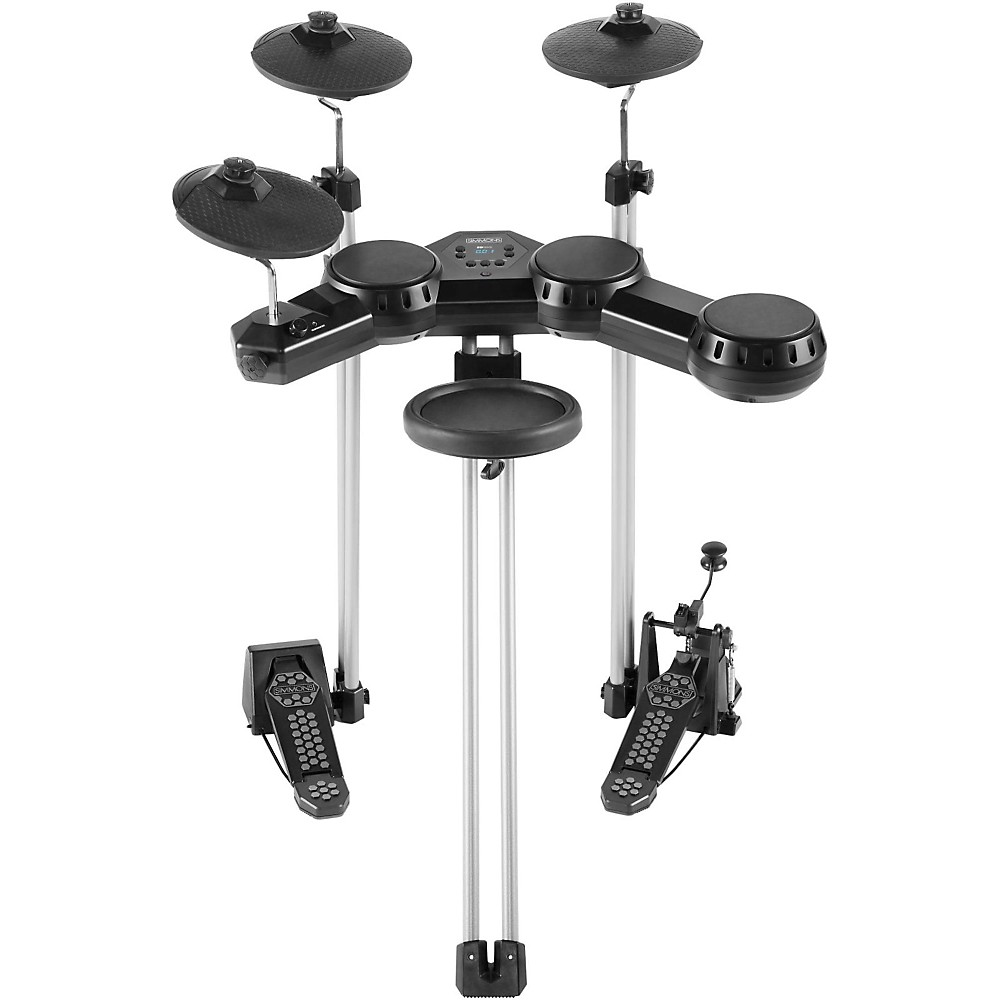 Simmons SD100KIT Compact 5 Piece Electronic Drum Set   Walmart com Simmons SD100KIT Compact 5 Piece Electronic Drum Set