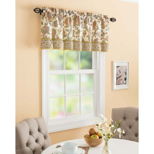 Better Homes And Gardens Tuscan Blooms Valance Walmart Com