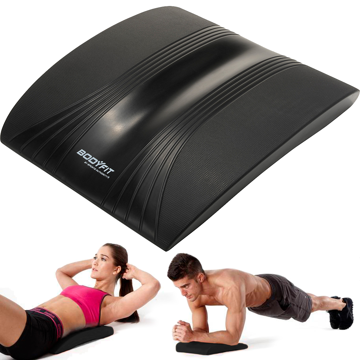 BodyFit Sports Authority Plank Ab Station Padded Fitness ...