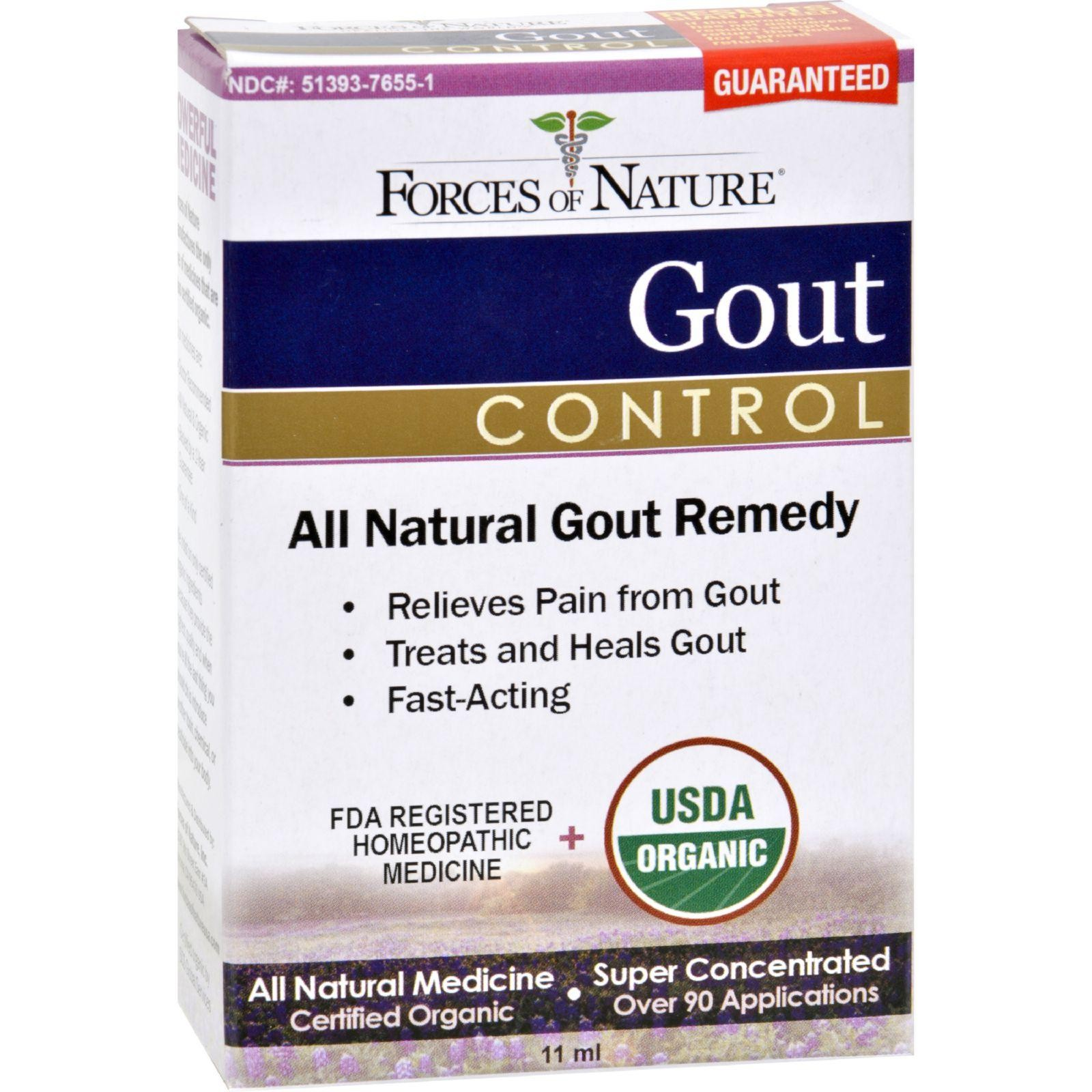 Forces Of Nature Organic Gout Control - 11 Ml | Walmart Canada