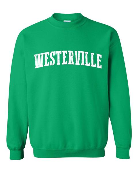 Westerville Ohio Sweatshirt Home of Ohio State University and OSU     Westerville Ohio Sweatshirt Home of Ohio State University and OSU Buckeyes  Bearcats Artix Unisex Crewneck Sweater   Walmart com