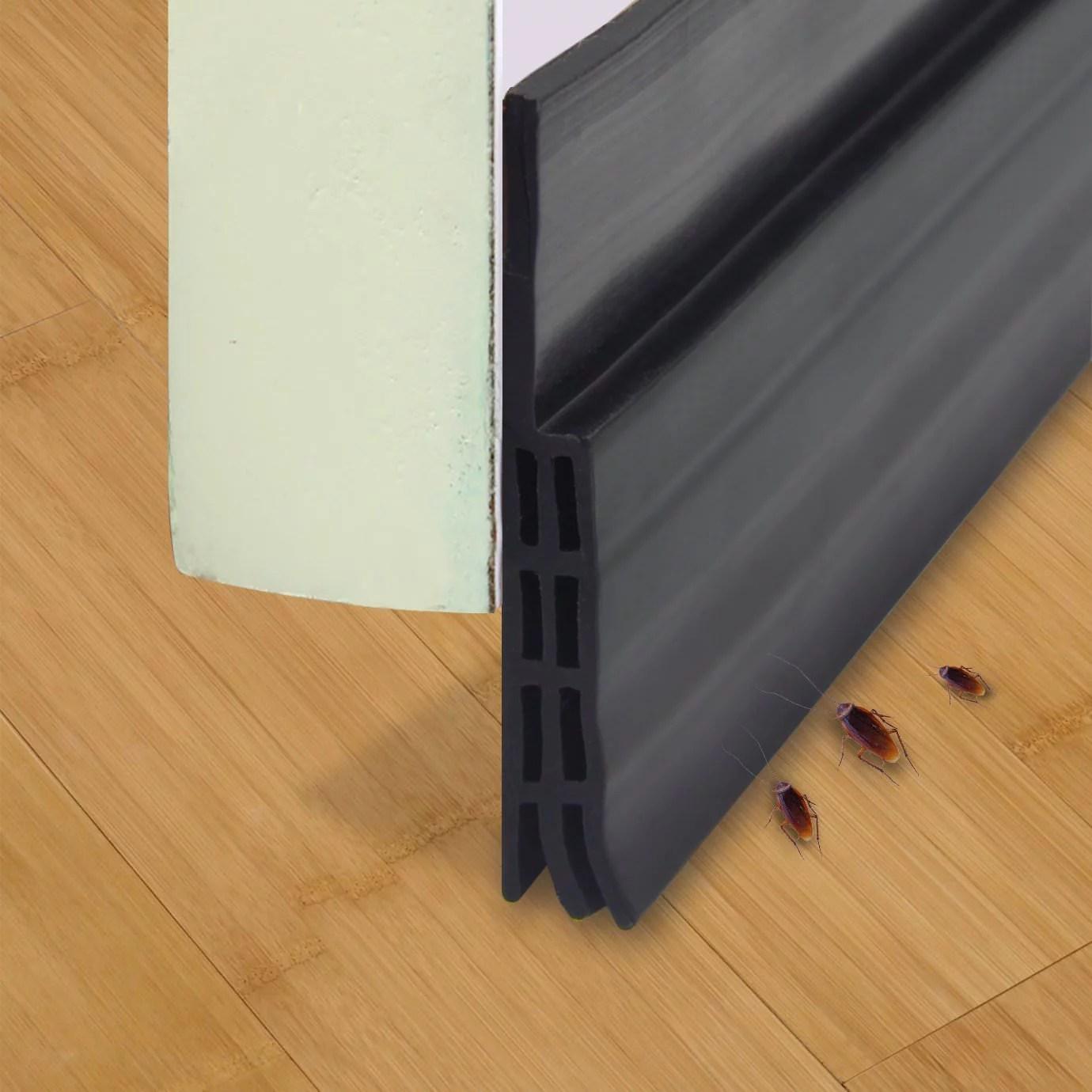 Cosyitems Waterproof Under Door Sweep Door Draft Stopper