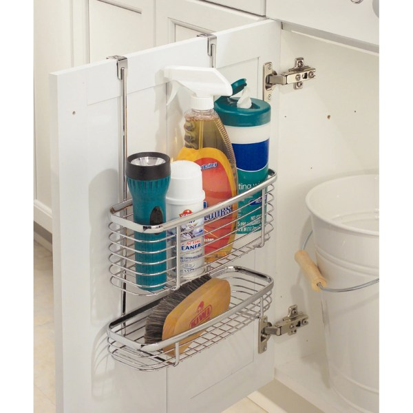 InterDesign Axis Over the Cabinet X3 Basket   Walmart com