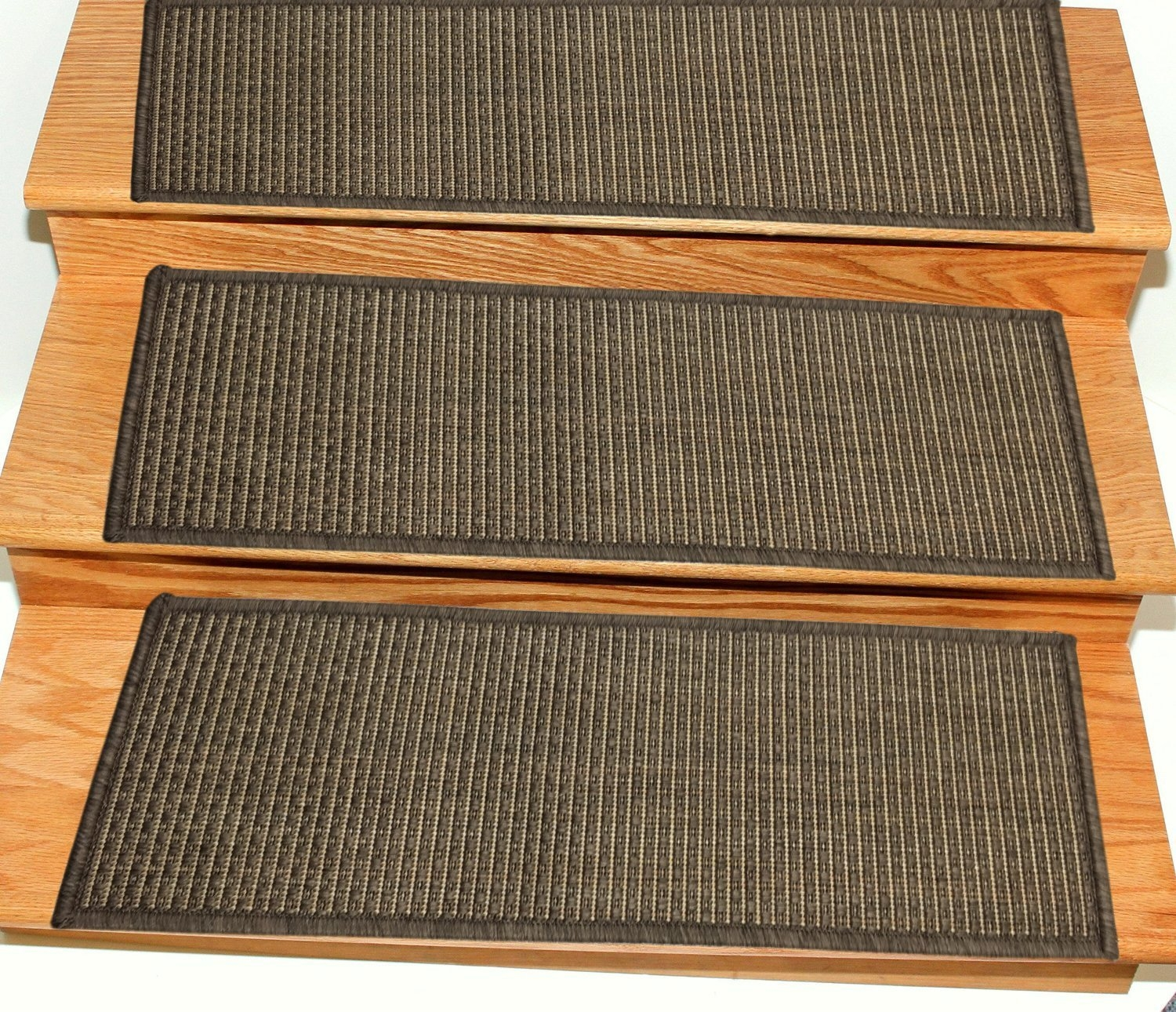 Ottomanson Jardin Collection Jute Back Indoor Outdoor Carpet Stair | Carpet Stair Treads Home Depot | Pattern | Lowes | Metal Stair | Wood Stair | Garden