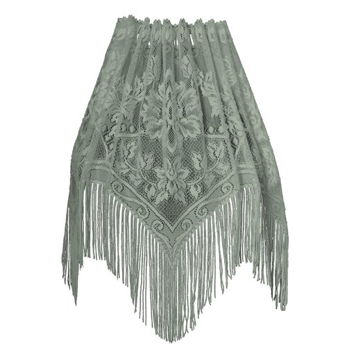 Heritage Lace Gala Graphic Print & Text Semi-Sheer Rod ...