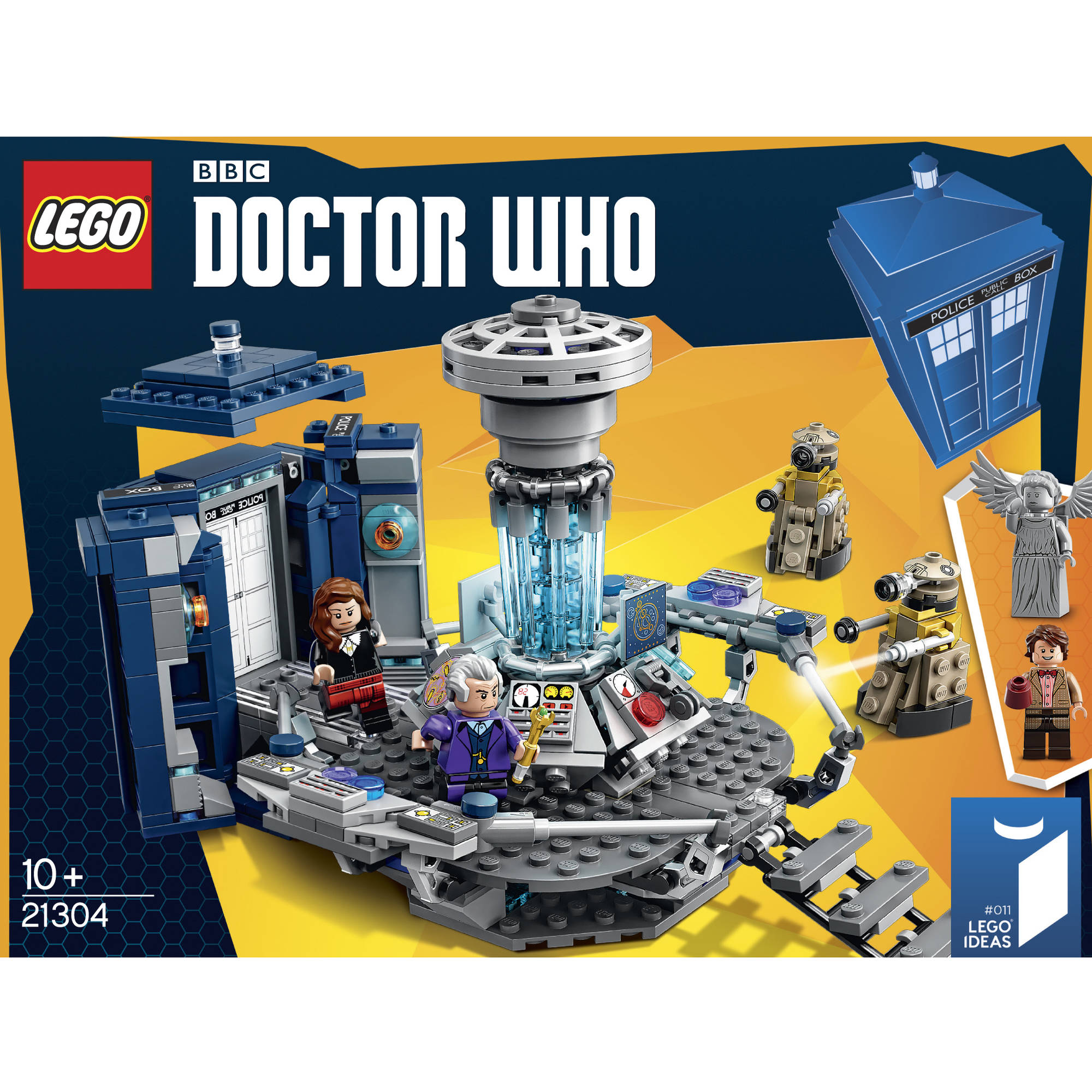 LEGO Doctor Who TARDIS Set 21304   Walmart com