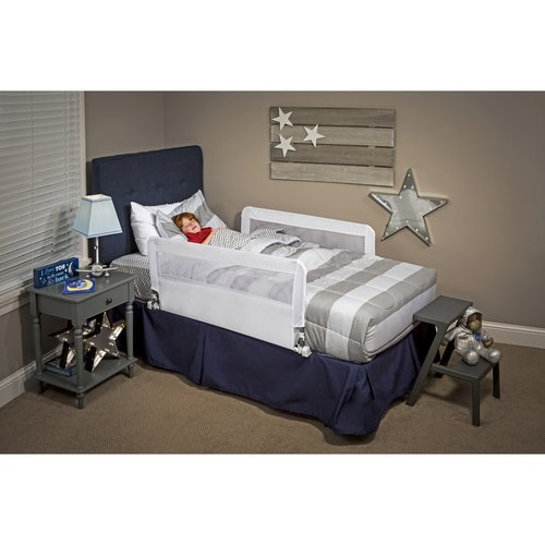 Regalo Hide Away Double Sided Safety Bed Rail Includes