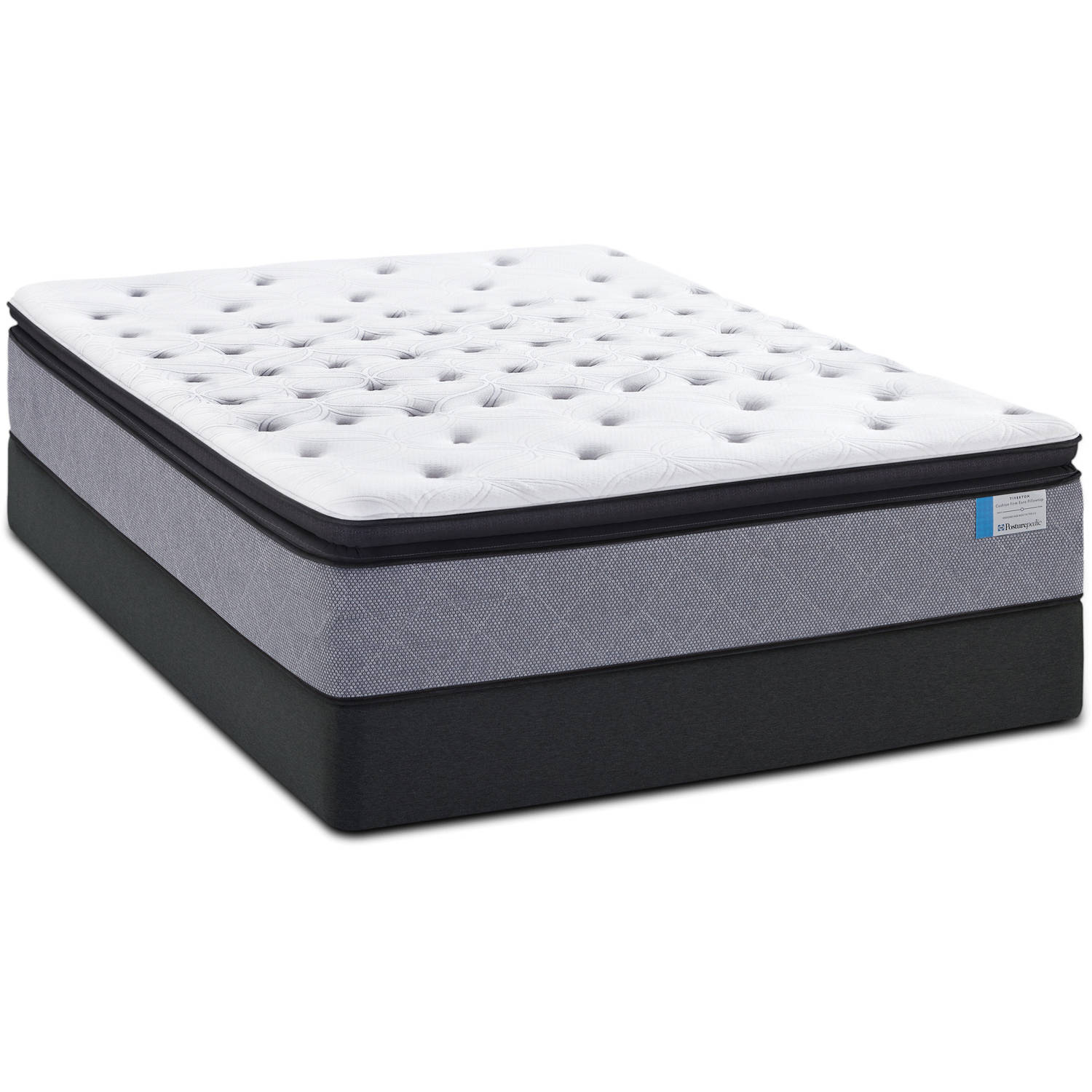 Sealy Posturepedic Plush Euro Pillowtop Chalone Mattress   Walmart com