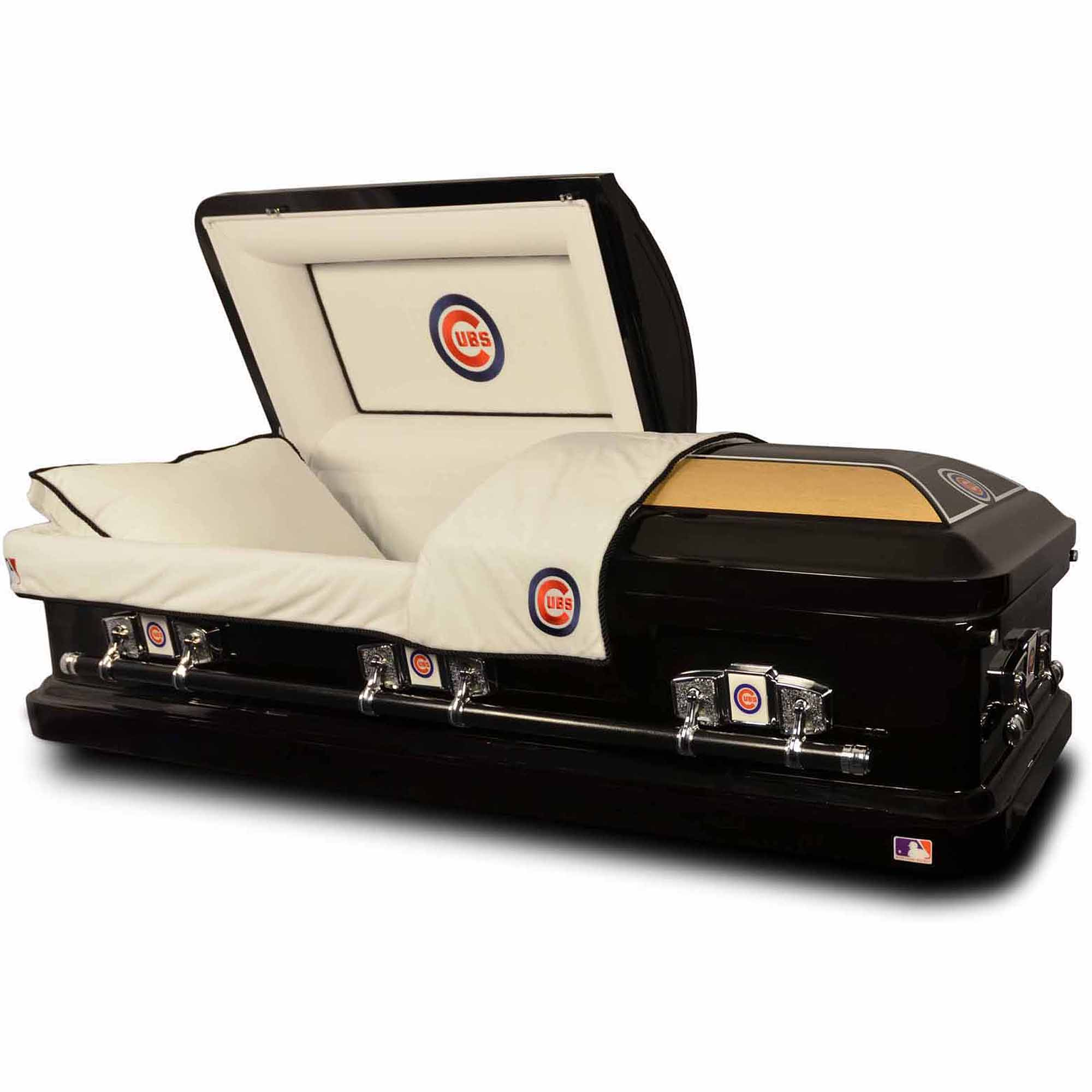 Official Major League Baseball Casket  Chicago Cubs   Walmart com Official Major League Baseball Casket  Chicago Cubs