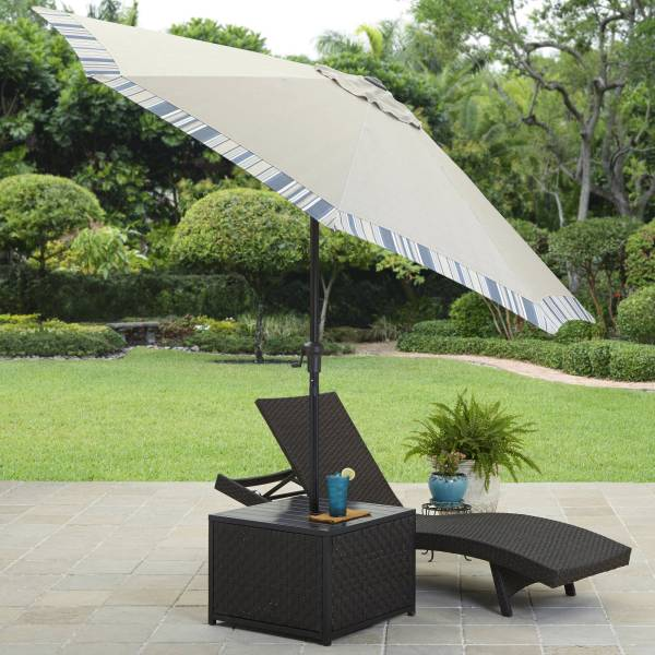 Better Homes and Gardens Avila Beach Umbrella Table   Walmart com