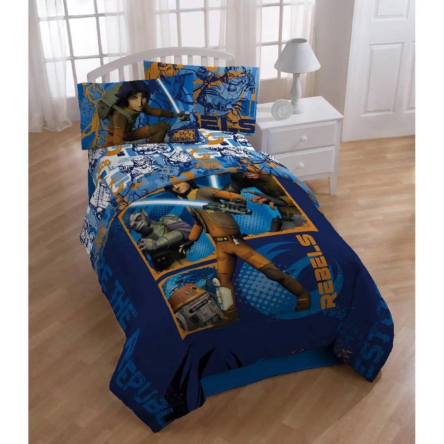 Star Wars Rebels Twin Full Bedding Comforter Walmart Com
