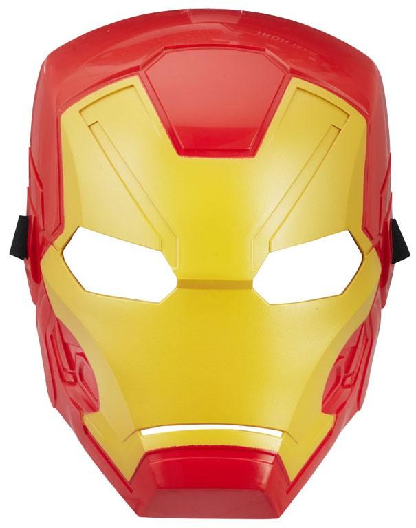 Marvel Avengers Basic Iron Man Mask - Walmart.com